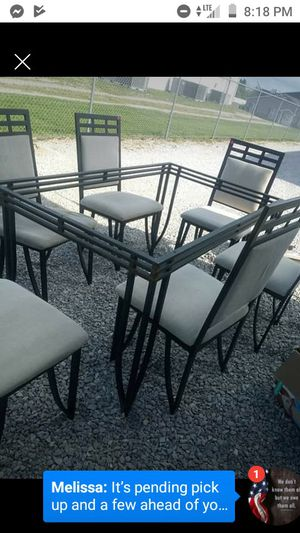 Kitchen table 6 chairs for Sale in Winfield, MO