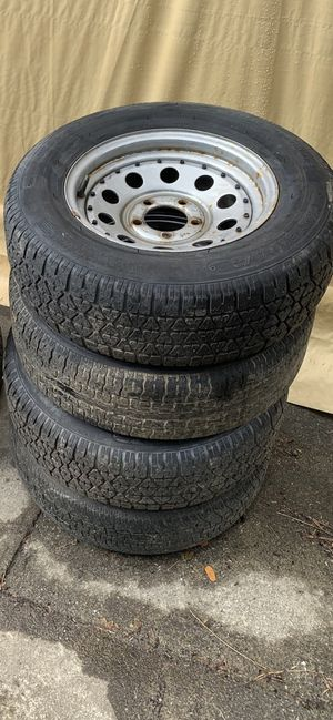 5x4.5 wheels and tires for Sale in Lake Stevens, WA