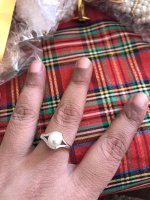 Beautiful pearl ring size 8 for Sale in Falls Church, VA