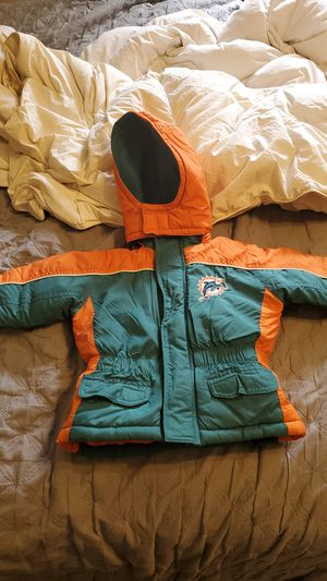 Miami Dolphins jacket hoodie for Sale in Port Richey, FL