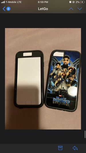 Two Brand New Black Panther IPhone 6 cases for Sale in Atlanta, GA