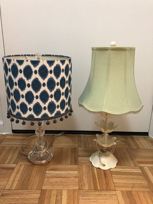 Two Pottery Barn Lamps for $20 for Sale in New York, NY