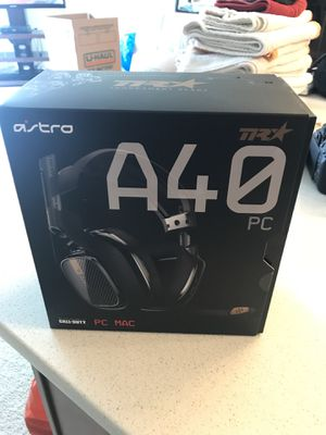 Astro A40 TR Headset for PC/MAC for Sale in Vienna, VA