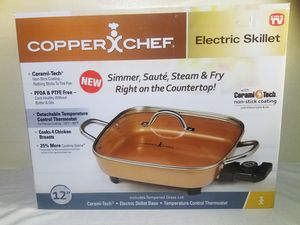 Copper Chef Electric Skillet for Sale in Los Angeles, CA