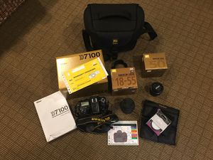 Nikon D7100 kit with extras for Sale in Seattle, WA