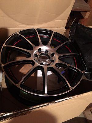 Konig wheels 17 in 4 lug for Sale in Tucson, AZ
