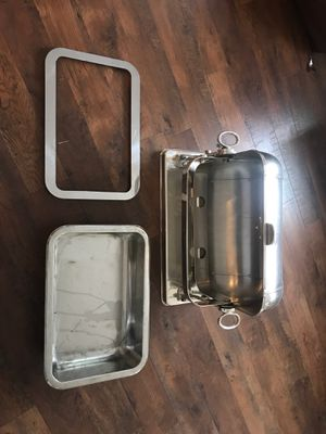 Food warmer SILVER made in Italy for Sale in Kailua, HI