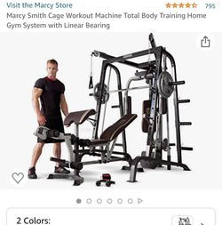 Marcy Smith Diamond Elite Cage Workout Machine Total Body Training Home Gym System with Linear Bearing for Sale in Dublin,  OH