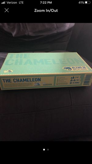 The game of chameleon for Sale in Bedford, TX