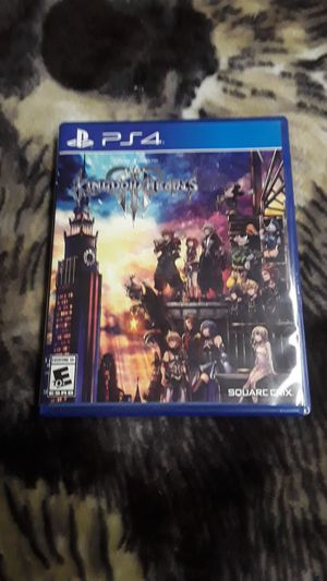 Kingdom Hearts 3 ps4 for Sale in Denver, CO