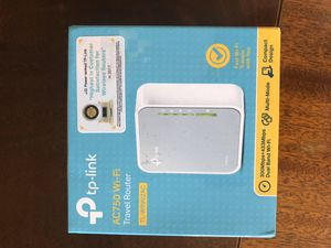 TP Link WiFi Travel Router for Sale in Costa Mesa, CA