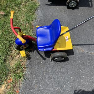Push Tricycle for Sale in Annandale, VA