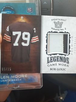 Bob Golic Actual Game Worn Jersey Card Only 25 Exist for Sale in Boise,  ID