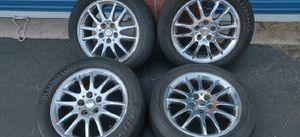 17 inch chrome rims and tires for Sale in Pittsburgh, PA