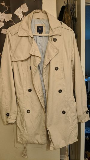 Beige Gap Trench Coat Jacket for Sale in Anaheim, CA