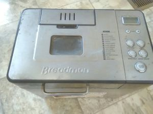 Multi Purpose BreadMan Bread Maker -only used twice.. Good condition for Sale in Knoxville, TN