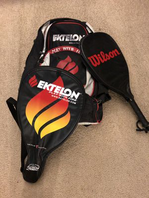 Wilson Racquetball racquets and bag for Sale in Oxon Hill, MD