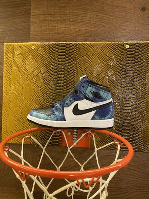 Air Jordan 1 high OG tie dye size 1y for Sale in Riverside, CA