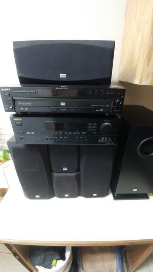 Onkyo Sound system & Sony DVD player for Sale in Tumwater, WA