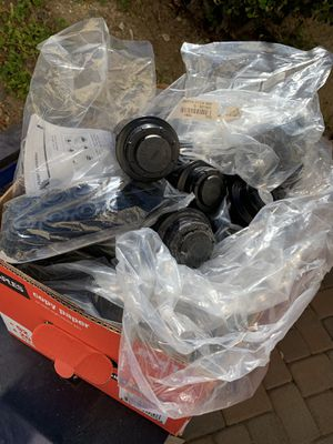 A huge box of toro pop up sprinkler heads and nozzle for Sale in Spring Valley, CA