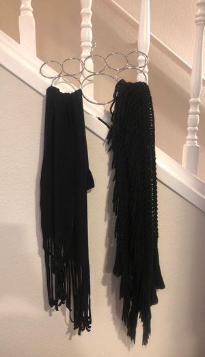 2 black scarves for Sale in Covington, WA