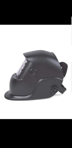 Welding Helmet Black Mask Adjustable Auto Darkening Solar Welder Mask for Sale in Silver Spring, MD