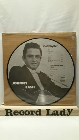 """Johnny Cash """"Get Rhythm"""" picture vinyl record Country for Sale in San Diego, CA"""