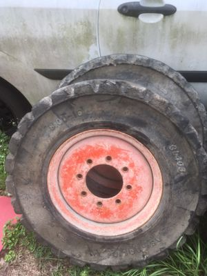 Kubota skid steer wheels and tire for Sale in Dade City, FL