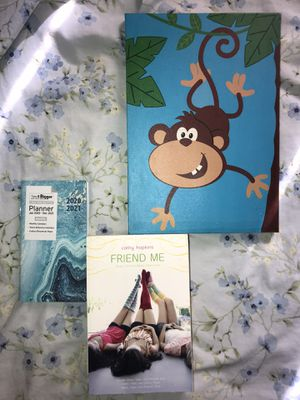 Friend me book with free planner and wall decoration for Sale in Fresno, CA