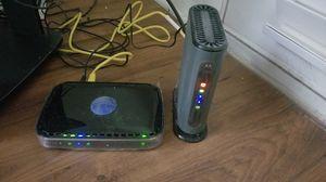 orola MB7220 modem & Netgear N600 router for Sale in Marietta, GA