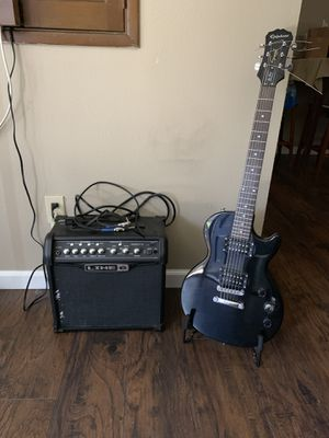 Guitar and amp for Sale in Chula Vista, CA