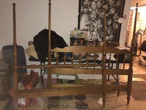 Ethan Allen bedroom suite- head/foot boards, desk, dresser, nightstand for Sale in Baltimore, MD