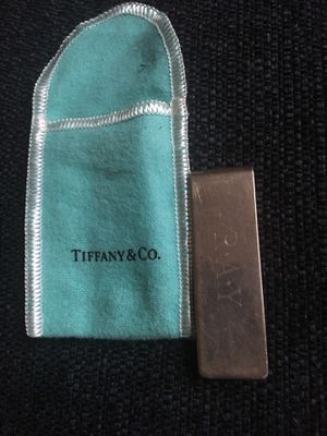 Tiffany&Co money clip 925 silver for Sale in St. Louis, MO