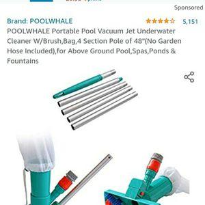 POOLWHALE Portable Pool Vacuum for Sale in Las Vegas, NV