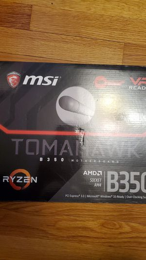 Msi b350 tomahawk motherboard for Sale in Chicago, IL