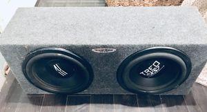 """2 Bajos 12""""— caja sellada__amplificador1000 watts for Sale in City of Industry, CA"""