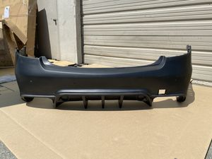 2010-2013 Mercedes E Class C207 2DR A207 Convertible Eros Version 2 Rear Bumper Cover - Part # 109633 for Sale in City of Industry, CA