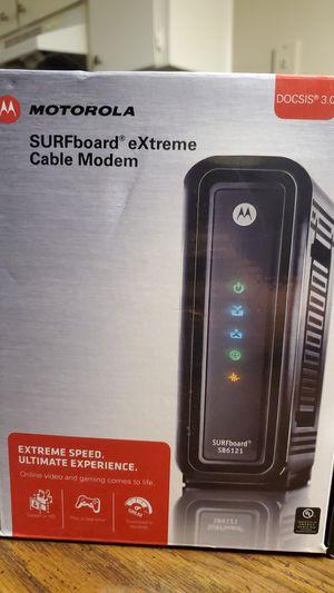 Motorola surfboard modem for Sale in Nashville, TN