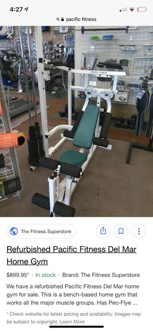 Pacific fitness home gym for Sale in San Diego, CA