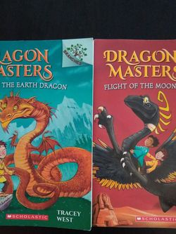 Dragon Masters Paperback Books #1, #6 for Sale in Gig Harbor,  WA