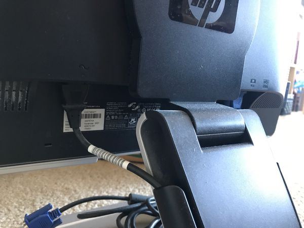 "HP Desktop monitor 22"""