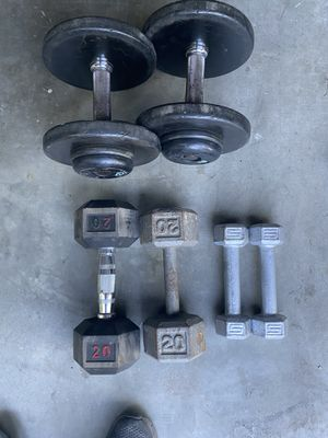 Weights, dumbbells, iron for Sale in Lathrop, CA