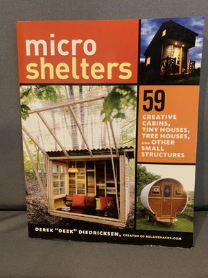 Micro shelters paperback book for Sale in Blythewood, SC