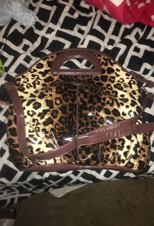 Oversized Leopard bag for Sale in Washington, DC