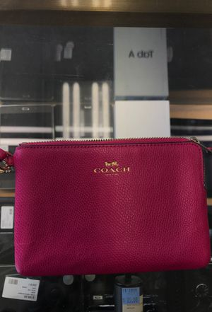 Coach pink wristlet for Sale in West Linn, OR