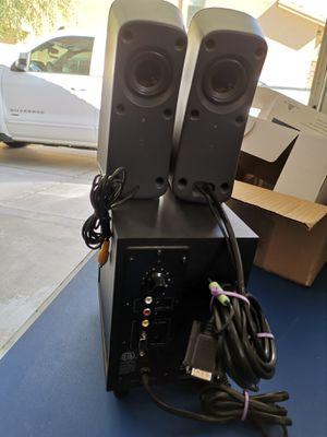 Logitech z323 Computer speakers for Sale in Phoenix, AZ