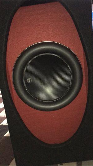 Jl audio 12w7 3ohms textured carbon fiber dust cover for Sale in Union City, CA