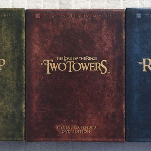 Lord of the Rings DVD Trilogy ~ Like New for Sale in Fresno, CA