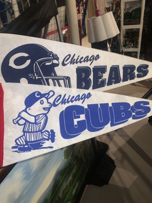 Chicago Cubs and Bears Decor for Sale in Lombard, IL