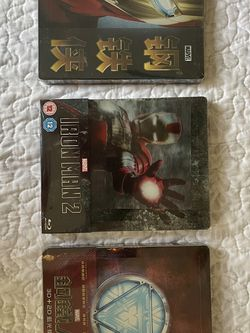 Iron Man Steelbook Collector Set for Sale in Visalia,  CA